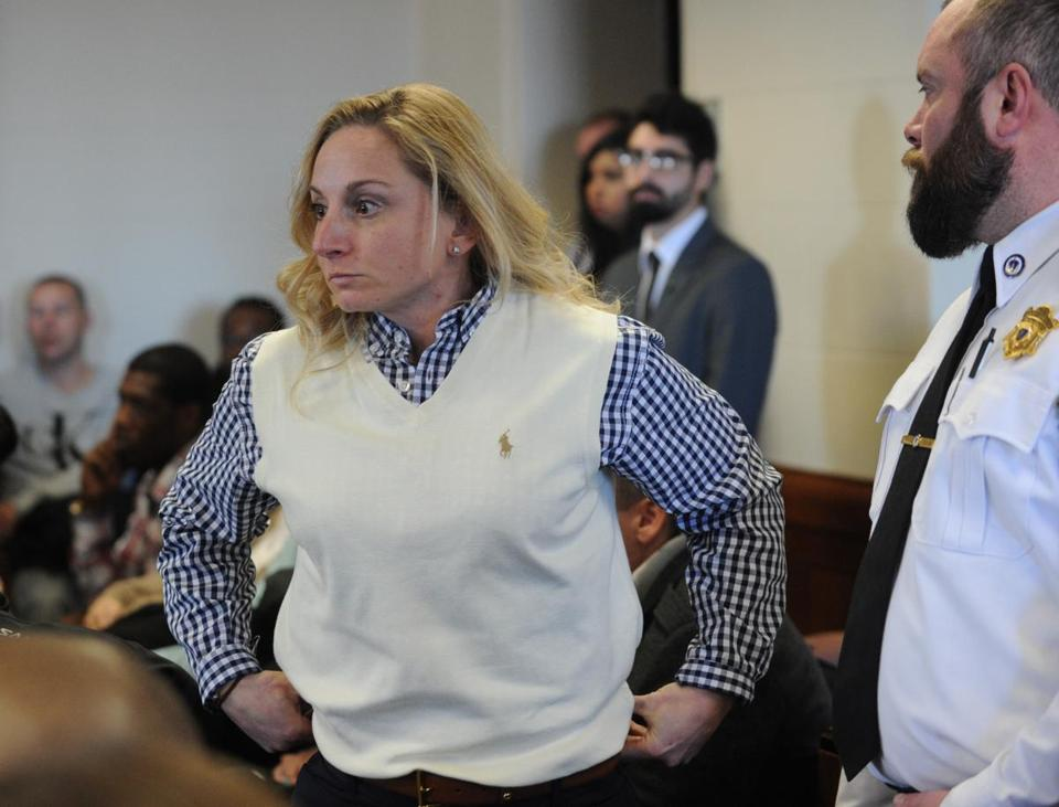 Jennifer Garvey appeared in Suffolk Superior Court in January 2016.